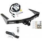 "Trailer Tow Hitch For 01-02 Toyota Tundra Complete Package w/ Wiring and 2"" Ball"