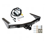 Trailer Tow Hitch For 01-02 Toyota Tundra without Factory Towable Bumper w/ Wiring Harness Kit
