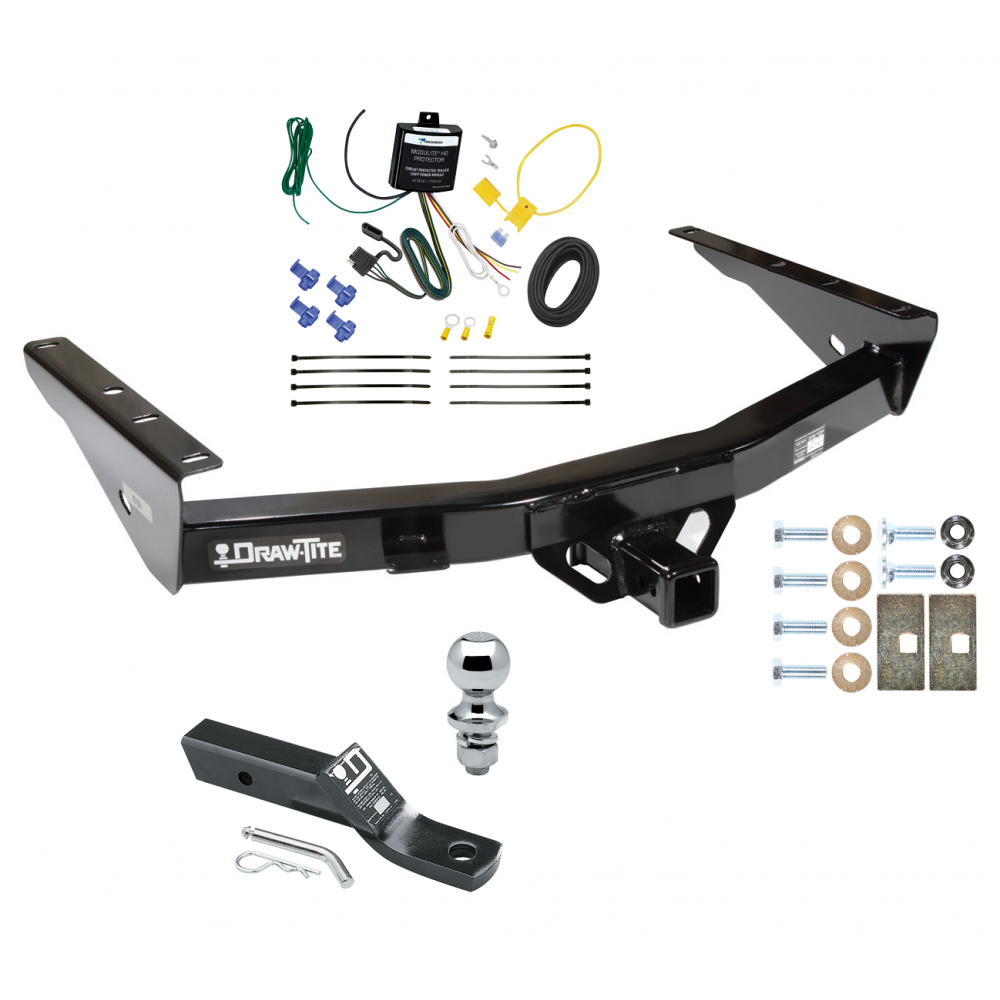trailer tow hitch for 03 06 toyota tundra complete package. Black Bedroom Furniture Sets. Home Design Ideas
