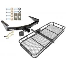 Trailer Tow Hitch For 00-06 Toyota Tundra All Styles Basket Cargo Carrier Platform Hitch Lock and Cover