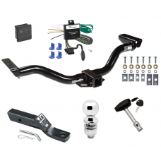 """Trailer Tow Hitch For 00-04 Nissan Xterra Deluxe Package Wiring 2"""" Ball and Lock"""