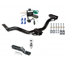 """Trailer Tow Hitch For 00-04 Nissan Xterra Complete Package w/ Wiring and 2"""" Ball"""