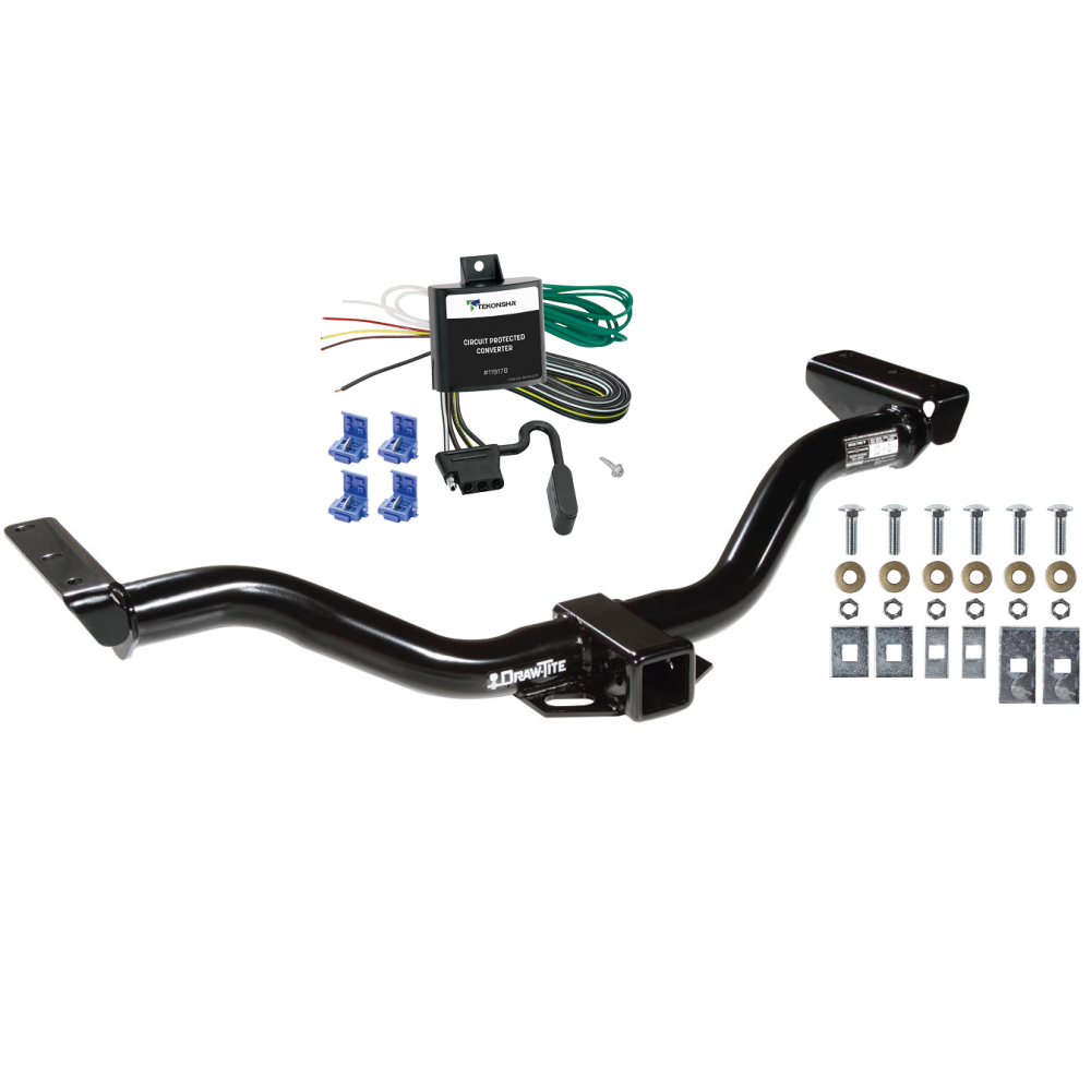 Trailer Tow Hitch For 00-04 Nissan Xterra w/ Wiring Harness Kit on towing accessories, towing wiring connectors, car towing harness, towing light harness, ford focus trailer harness, dodge ignition wire harness, towing stone guards, towing cable,
