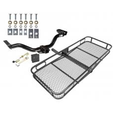 Trailer Tow Hitch For 00-04 Nissan Xterra All Styles Basket Cargo Carrier Platform Hitch Lock and Cover