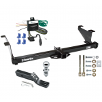 "Trailer Tow Hitch For 00-03 Mazda MPV Except w/Ground Effects Complete Package w/ Wiring and 1-7/8"" Ball"