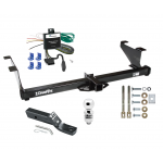 "Trailer Tow Hitch For 00-03 Mazda MPV Except w/Ground Effects Complete Package w/ Wiring and 2"" Ball"