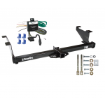 Trailer Tow Hitch For 00-03 Mazda MPV Except w/Ground Effects w/ Wiring Harness Kit