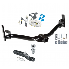 "Trailer Tow Hitch For 01 04-05 Ford Explorer Trac Complete Package w/ Wiring and 1-7/8"" Ball"