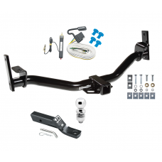"Trailer Tow Hitch For 01 04-05 Ford Explorer Trac Complete Package w/ Wiring and 2"" Ball"