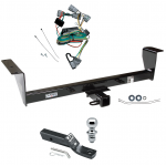 "Trailer Tow Hitch For 01-06 Mitsubishi Montero Except Sport Complete Package w/ Wiring and 1-7/8"" Ball"