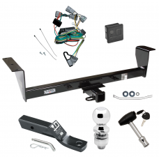 """Trailer Tow Hitch For 01-06 Mitsubishi Montero Except Sport Deluxe Package Wiring 2"""" Ball and Lock"""