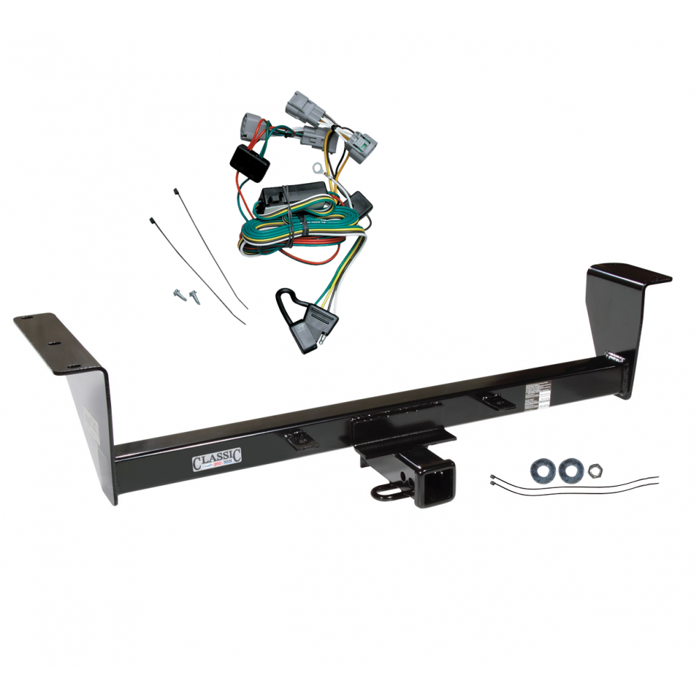 trailer tow hitch for 01 06 mitsubishi montero except sport w GM Wiring Harness