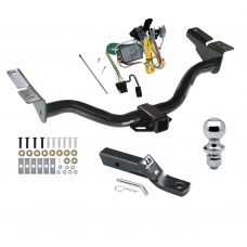 "Trailer Tow Hitch For 01-03 Ford Escape Mazda Tribute Complete Package w/ Wiring and 1-7/8"" Ball"
