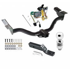 "Trailer Tow Hitch For 01-03 Ford Escape Mazda Tribute Complete Package w/ Wiring and 2"" Ball"