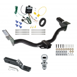 "Trailer Tow Hitch For 2004 Ford Escape Mazda Tribute Complete Package w/ Wiring and 1-7/8"" Ball"