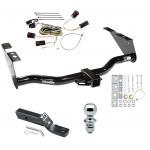 """Trailer Tow Hitch For 04-07 Chrysler Town Country Dodge Grand Caravan Exc SGo PKG w/ Wiring and 1-7/8"""" Ball"""