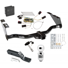 """Trailer Tow Hitch For 04-07 Chrysler Town Country Dodge Grand Caravan Exc SGo PKG Wiring 2"""" Ball and Lock"""