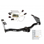 Trailer Tow Hitch For 04-07 Chrysler Town Country Dodge Grand Caravan Exc SGo w/ Wiring Harness Kit