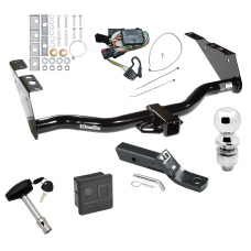 "Trailer Tow Hitch For 96-00 Chrysler Town Country Dodge Grand Caravan PKG Wiring 2"" Ball and Lock"