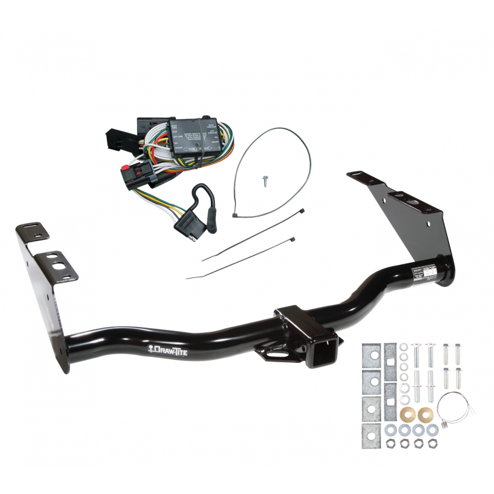 trailer tow hitch for 96 00 chrysler town country dodge. Black Bedroom Furniture Sets. Home Design Ideas