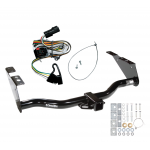 Trailer Tow Hitch For 01-03 Chrysler Town Country Voyager Dodge Grand Caravan w/ Wiring Harness Kit