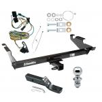 "Trailer Tow Hitch For 87-95 Chevy G10 G20 G30 GMC G1500 G2500 G3500 Package w/ Wiring and 1-7/8"" Ball"