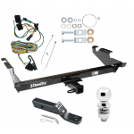 "Trailer Tow Hitch For 87-95 Chevy G10 G20 G30 GMC G1500 G2500 G3500 Package w/ Wiring and 2"" Ball"