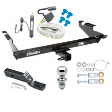 "Trailer Tow Hitch For 78-86 96 Chevy G10 G20 G30 GMC G1500 G2500 G3500 Package w/ Wiring and 1-7/8"" Ball"
