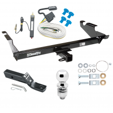 "Trailer Tow Hitch For 78-86 96 Chevy G10 G20 G30 GMC G1500 G2500 G3500 Package w/ Wiring and 2"" Ball"