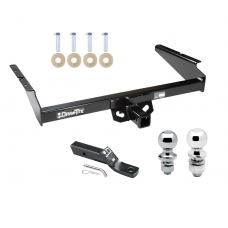 """Trailer Tow Hitch For 90-05 Chevy Astro GMC Safari Extended Body Receiver w/ 1-7/8"""" and 2"""" Ball"""