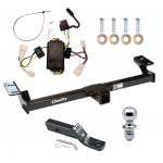 """Trailer Tow Hitch For 96-00 Toyota RAV4 Complete Package w/ Wiring and 1-7/8"""" Ball"""