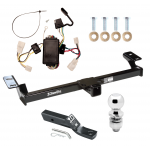 "Trailer Tow Hitch For 96-00 Toyota RAV4 Complete Package w/ Wiring and 2"" Ball"