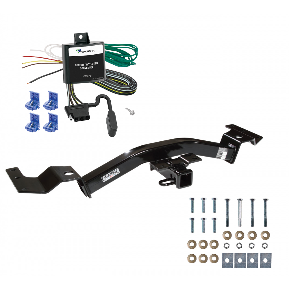 Trailer Tow Hitch For 01-02 Toyota Sequoia w/ Wiring Harness Kit on 4runner wiring harness, pt cruiser wiring harness, h3 wiring harness, camry wiring harness, f150 wiring harness, miata wiring harness, civic wiring harness, tahoe wiring harness,