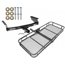 Trailer Tow Hitch For 02-07 Jeep Liberty All Styles Basket Cargo Carrier Platform w/ Hitch Pin
