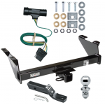 "Trailer Tow Hitch For 73-74 Chevy Blazer 75-84 K5 73-84 GMC Jimmy Package w/ Wiring and 1-7/8"" Ball"