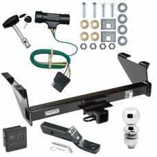 "Trailer Tow Hitch For 73-74 Chevy Blazer 75-84 K5 73-84 GMC Jimmy Package Wiring 2"" Ball and Lock"