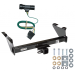 Trailer Tow Hitch For 73-74 Chevy Blazer 75-84 K5 73-84 GMC Jimmy w/ Wiring Harness Kit