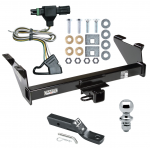 "Trailer Tow Hitch For 87-91 Chevy Blazer 85-86 K5 85-91 GMC Jimmy Package w/ Wiring and 1-7/8"" Ball"