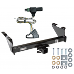 Trailer Tow Hitch For 87-91 Chevy Blazer 85-86 K5 85-91 GMC Jimmy w/ Wiring Harness Kit