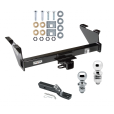 "Trailer Tow Hitch For 73-74 87-91 Chevy Blazer 75-86 K5 73-91 GMC Jimmy Receiver w/ 1-7/8"" and 2"" Ball"