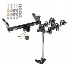 Trailer Tow Hitch For 73-91 Chevy Blazer GMC Jimmy 4 Bike Rack w/ Hitch Lock and Cover