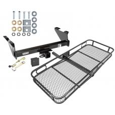 Trailer Tow Hitch For 73-91 Chevy Blazer GMC Jimmy Basket Cargo Carrier Platform Hitch Lock and Cover