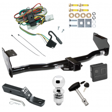 """Trailer Tow Hitch For 02-05 KIA Sedona Deluxe Package Wiring 2"""" Ball and Lock"""