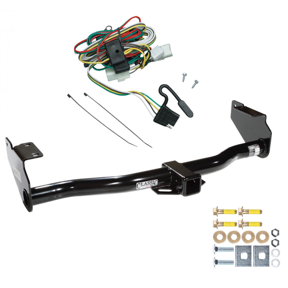 Fantastic Trailer Tow Hitch For 02 05 Kia Sedona W Wiring Harness Kit Wiring 101 Archstreekradiomeanderfmnl