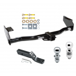 "Trailer Tow Hitch For 02-05 KIA Sedona Receiver w/ 1-7/8"" and 2"" Ball"