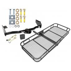 Trailer Tow Hitch For 02-05 KIA Sedona Basket Cargo Carrier Platform Hitch Lock and Cover
