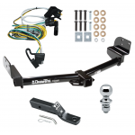 "Trailer Tow Hitch For 02-03 Ford Explorer 4 Dr. Mountaineer 03-04 Aviator Package w/ Wiring and 1-7/8"" Ball"