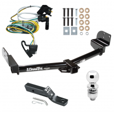 "Trailer Tow Hitch For 02-03 Ford Explorer 4 Dr. Mountaineer 03-04 Aviator Package w/ Wiring and 2"" Ball"