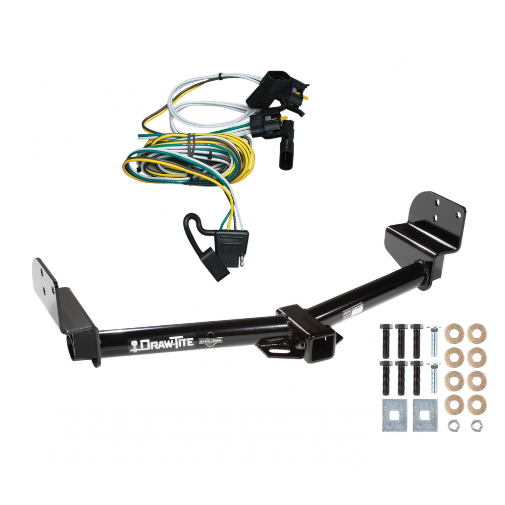 trailer tow hitch for 02-03 ford explorer 4 dr  mountaineer 03-04 aviator  w/ wiring harness kit