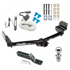 """Trailer Tow Hitch For 04-05 Ford Explorer 4 Dr. Mountaineer 05 Aviator Package w/ Wiring and 1-7/8"""" Ball"""